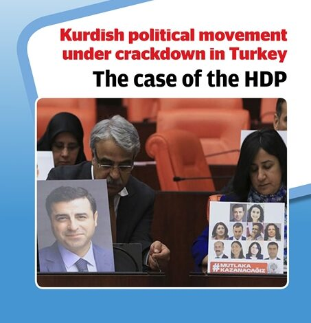 Photo of مركز ستوكهولم للحرية: تركيا تقمع الحركة السياسية الكردية