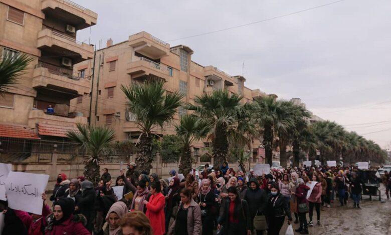 Photo of أهالي الحسكة يطالبون المجتمع الدولي بالتدخل لحل أزمة المياه