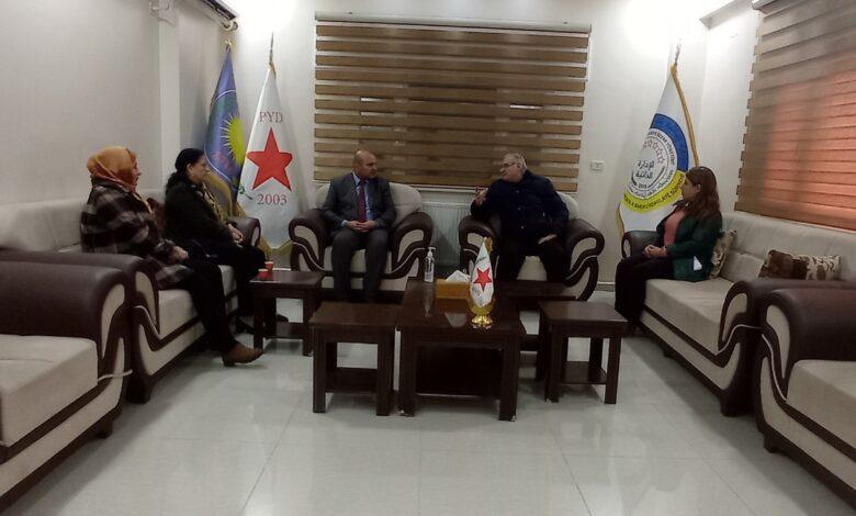 Photo of اتحاد الشغيلة والاتحاد الديمقراطي يؤكدان على الحوار لحل جميع الخلافات