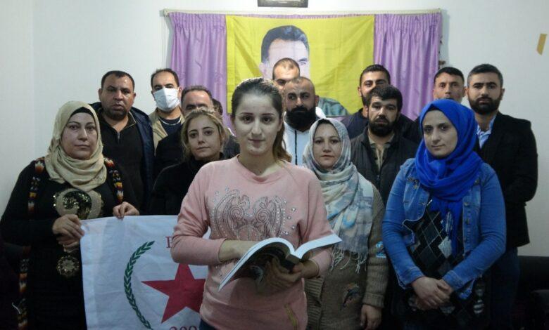 Photo of سلسلة اجتماعات لمجالس PYD في لبنان استنكاراً لاعتقال ليلى كوفن