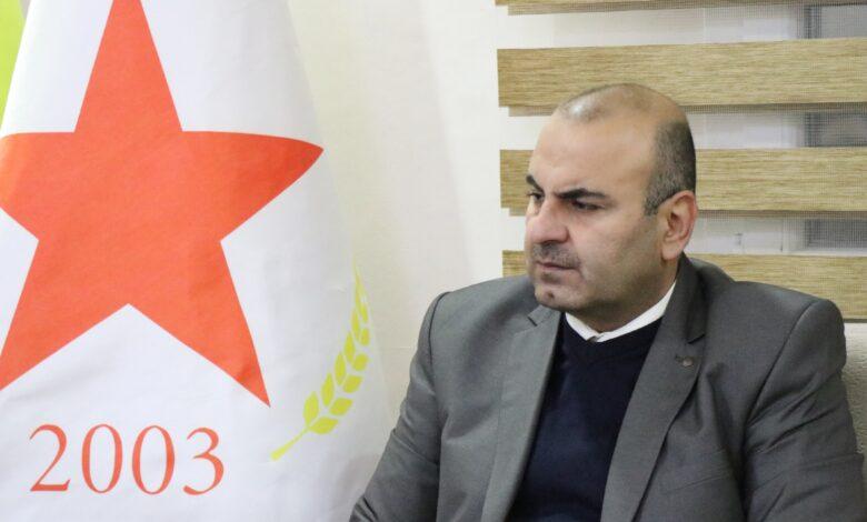 Photo of مسلم: هدف تركيا من الهجمات على عين عيسى فرض أجنداتها السياسيّة على مستقبل الحل في سوريا