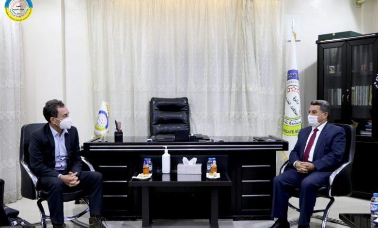 Photo of السفير إيريك شوفالييه في مناطق الإدارة الذاتية شمال و شرق سوريا