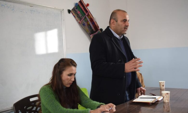 Photo of سلسلة اجتماعات تنظيمية يعقدها حزبنا في إقليم الفرات