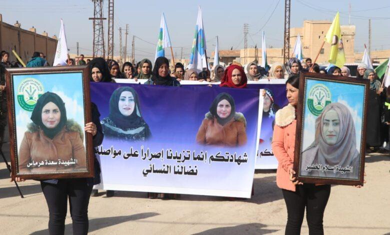 Photo of أهالي الشدادي ينددون بالجريمة التي طالت عضوات في الدشيشة
