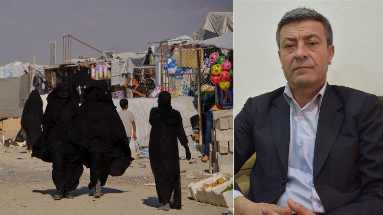 Photo of شيخموس أحمد: داعش أنشأ دويلة إسلامية في مخيم الهول