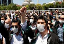 "Photo of ""أمنستي إنترناشونال"": محامو حقوق الإنسان في تركيا ""فصيلة مهددة بالانقراض"""