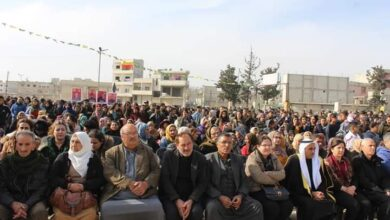 Photo of أهالي كوباني يحتفلون بالذكرى السادسة لتحرير المدينة