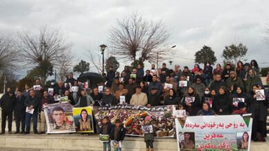 Photo of وقفة احتجاجية بالسليمانية في الذكرى الثالثة للهجوم التركي على عفرين