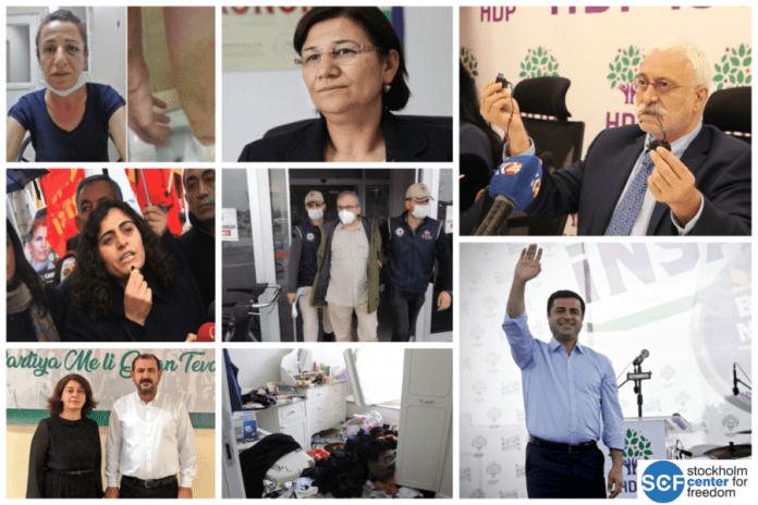 Photo of مظاهر من قمع الحركة السياسية الكردية في تركيا خلال 2020