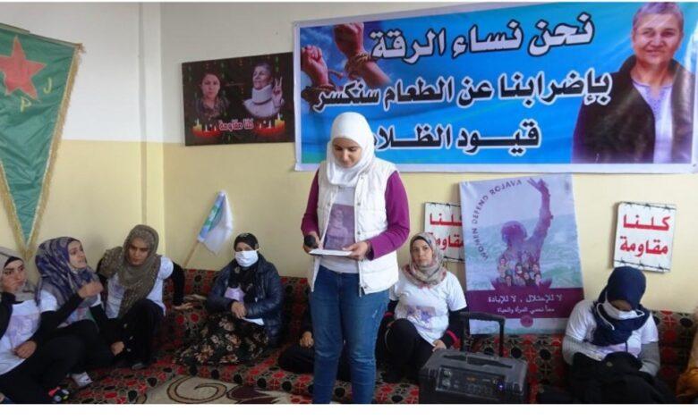Photo of نساء الرقة يقفون صفاً واحداً ضد سياسات الترهيب العثمانية