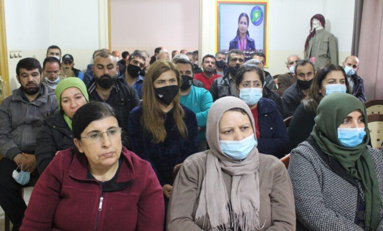 Photo of الاجتماع السنوي لـ pyd في لبنان يستذكر شهداء مجزرة باريس