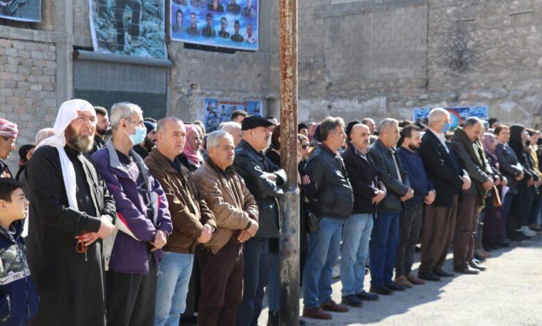 Photo of مشاركة PYD في مراسيم شهيدين في حلب