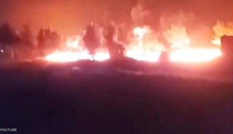 """Photo of غارة """"روسية"""" تضرب قافلة نفط كانت ذاهبة الى تركيا عبر مدينة الباب السورية"""