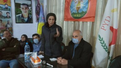 Photo of عائشة حسو: رموز ثورتنا وشهداؤنا هم جزء من تاريخنا