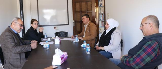 Photo of وفد من حزبنا PYD يزور مركز العدل لحقوق الانسان