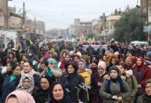Photo of في الذكرى السوداء الثالثة لاحتلال عفرين: مظاهرة في قامشلو تنديداً بالاحتلال التركي