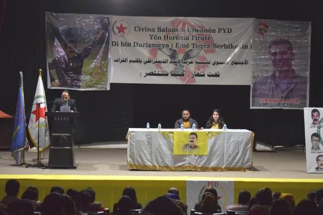 "Photo of تحت شعار ""حتماً سننتصر"" شبيبة الـ PYD تعقد اجتماعها السنوي بإقليم الفرات"