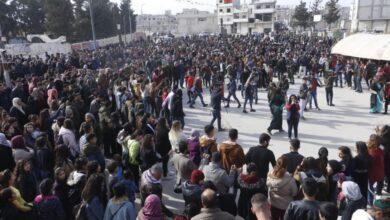 Photo of الإدارة الذاتية بمدينة كوباني تنظم احتفالية في ذكرى تحريرها