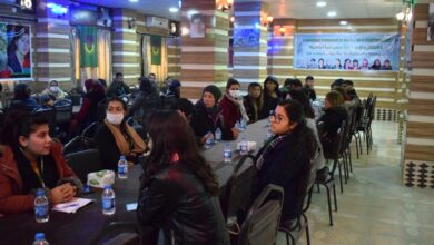 Photo of اتحاد المرأة الشابة يعقد منتدى حواري في إقليم الفرات