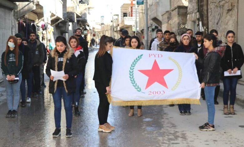 Photo of شبيبة الـ PYD في حلب يستذكرون الشهيدة فيان صوران
