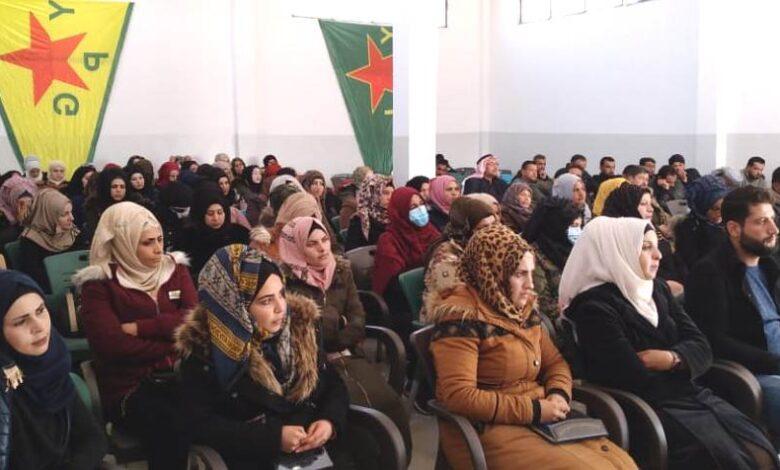 Photo of مؤتمر ستار يستذكر الشهيدة فيان صوران في ناحية الشدادي