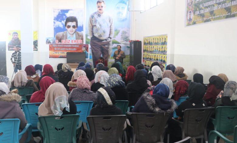 Photo of الاتحاد الديمقراطي في ناحية الشدادي يستذكر مؤامرة 15 شباط