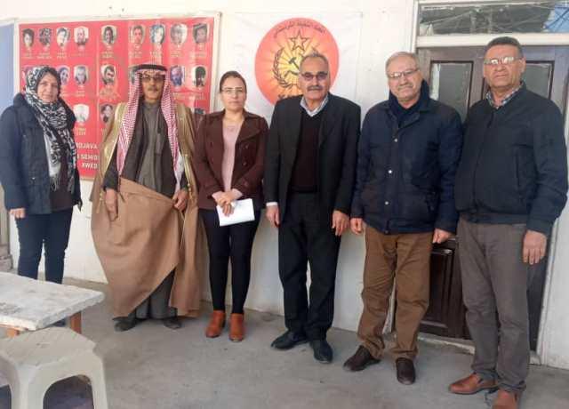 Photo of وفد من مكتب العلاقات في الـ PYD يزور مكتب حزب اتحاد الشغيلة الكردستاني