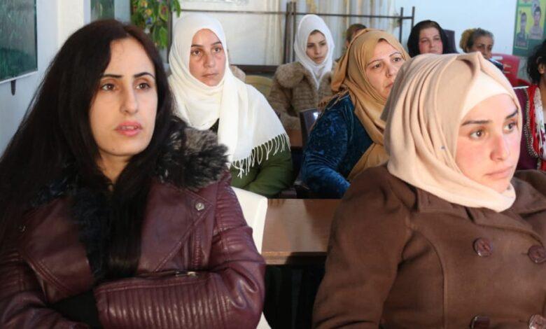 Photo of مجلس المرأة في الـ PYD يختتم دورة تدريبية للمكون العربي في رميلان