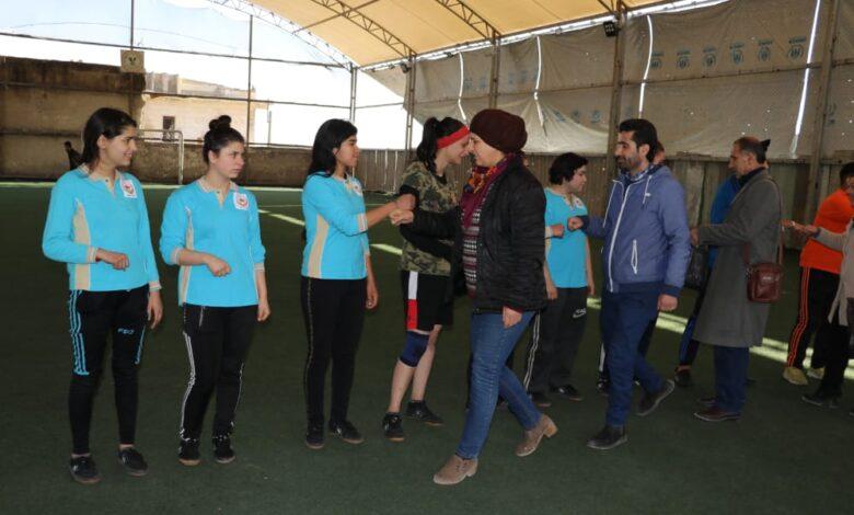 Photo of الـ PYD يكرّم نادي برخدان في حلب