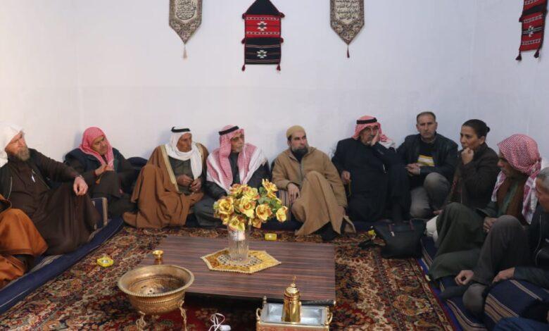 Photo of الرئاسة المشتركة لحزب الاتحاد الديمقراطي تلتقي مع لجنة وجهاء حلب