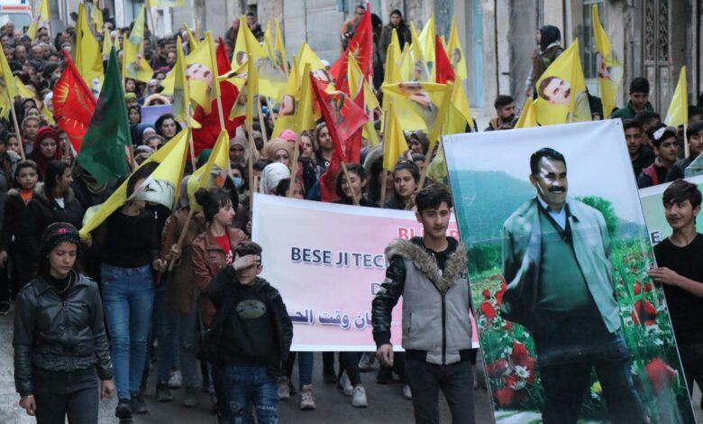 Photo of تظاهرات للشبيبة تؤكد فيها على تصعيد وتيرة النضال
