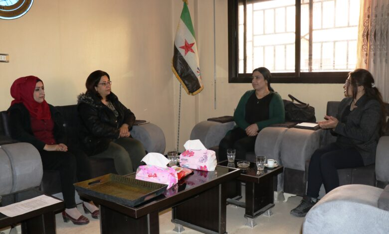 Photo of وفد من مجلس المرأة في الـ PYD يزور مكتب حزب الحداثة الديمقراطية في قامشلو