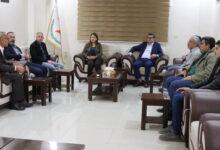 Photo of وفد من آل حاجو يزور مركز حزب الاتحاد الديمقراطي في قامشلو