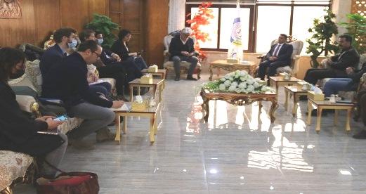 Photo of وفد من برلمان فرنسا وأوروبا في زيارة لشمال وشرق سوريا