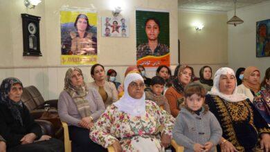 Photo of مجلس المرأة في الـ PYD بباشور يعقد اجتماعا لجالية روج افا بمناسبة يوم 8 آذار