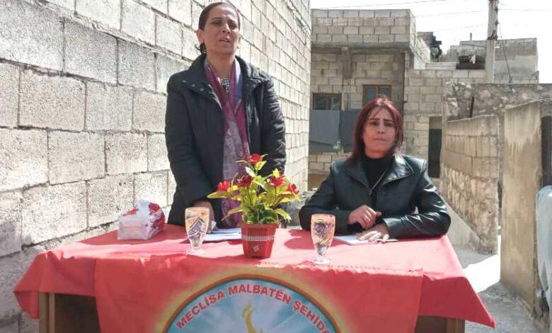 Photo of عائشة حسو: مؤسسة عوائل الشهداء مظلة لحماية قيم ومبادئ الثورة