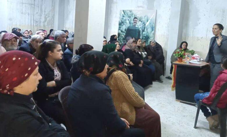 Photo of حزبنا يواصل بعقد الاجتماعات لعوائل الشهداء في حلب
