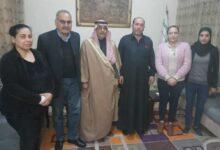 Photo of وفد من مكتب العلاقات في الـ PYD يزور مكتب الهيئة الوطنية العربية