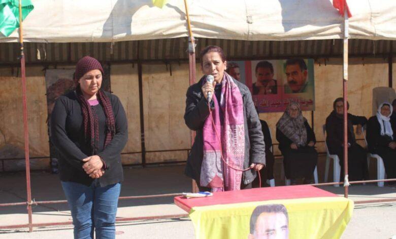 Photo of عائشة حسو: على محكمة حقوق الإنسان القيام بمسؤولياتها للاطمئنان على صحة القائد