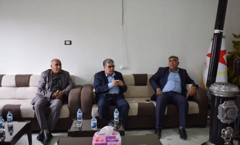 Photo of الديمقراطي التقدمي الكردي في سوريا يجتمع مع حزبنا في إقليم الفرات