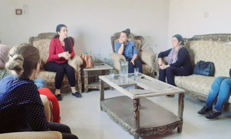 Photo of مجلس المرأة في الـ PYD يعقد اجتماعاً تنظيمياً في ناحية شيران