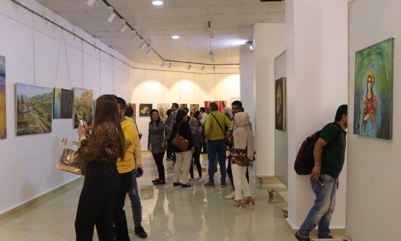 "Photo of ""تنوعنا مصدر جمالنا وقوتنا، معًا لنجعل الفن ربيع قلوبنا"" ملتقى روج آفا الثالث للفن التشكيلي"