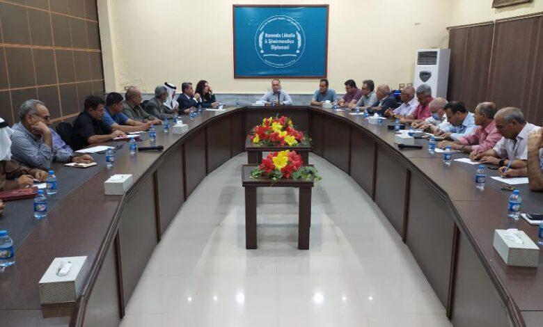 Photo of القوى السياسة للإدارة الذاتية تناقش جملة من التطورات في المنطقة