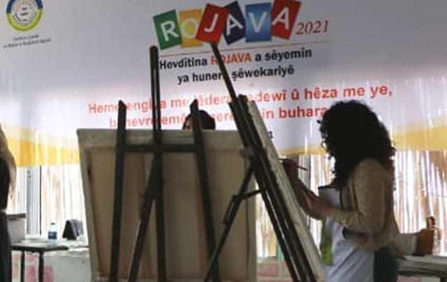 Photo of مدينة الطبقة تستقبل ملتقى روجآفا الثالث للفنون التشكيلية