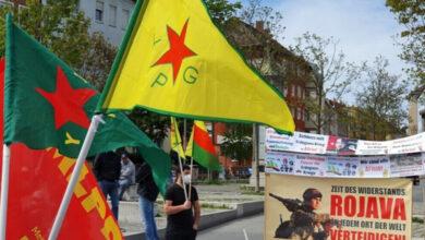 Photo of مظاهرات في مدن أوربية تنديداً بهجمات الاحتلال التركي على مناطق الدفاع المشروع