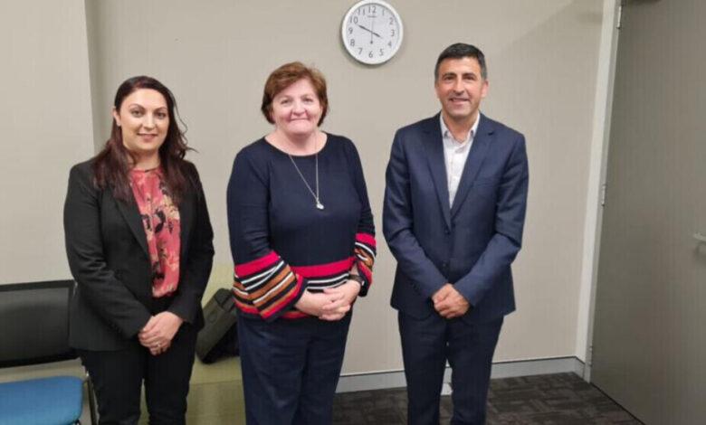 Photo of وفد المؤتمر الوطني الكردستاني KNK في استراليا للحديث عن العدوان التركي