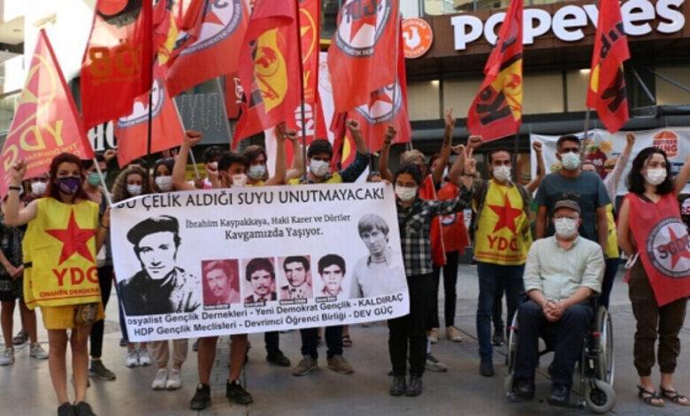 Photo of مناضلون يستذكرون شهداء شهر أيار في أزمير التركية