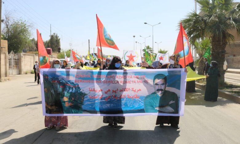 Photo of أهالي مقاطعة الحسكة ينتفضون ضد الهجمات التركية على مناطق الدفاع المشروع