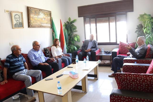 Photo of وفد من حزبنا يزور مكتب حزب اليسار الديمقراطي الكردي في سوريا
