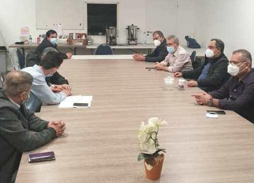 Photo of الـ PYD يعقد اجتماعاً تنظيمياً لأعضائه في مدينة مونستر الألمانية